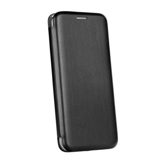 Husa Flip Cover Magnetic Pentru Nokia 3.1 Plus - Negru