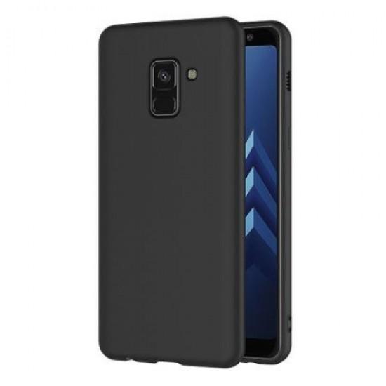 Carcasa Husa silicon Samsung Galaxy A8 2018 / Samsung Galaxy A5 2018 - Neagra