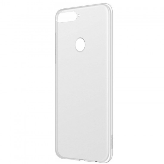 Capac protectie spate pentru Huawei Y7 (2018), Transparent
