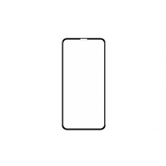 Folie de protectie sticla 6D iPhone 11 Neagra