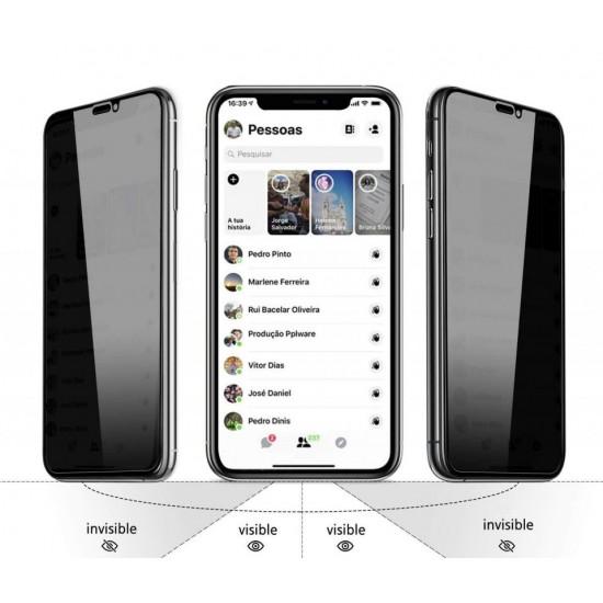 Folie de protectie sticla Privacy iPhone 11