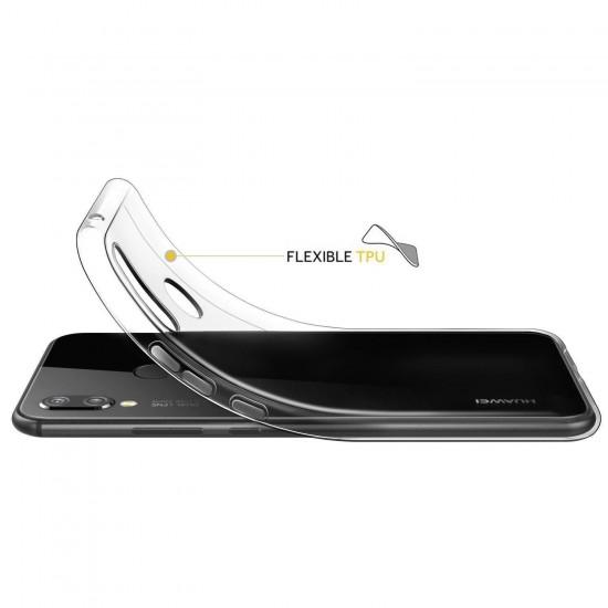 Husa compatibila cu Huawei P SMART 2021, - Silicon, Transparent