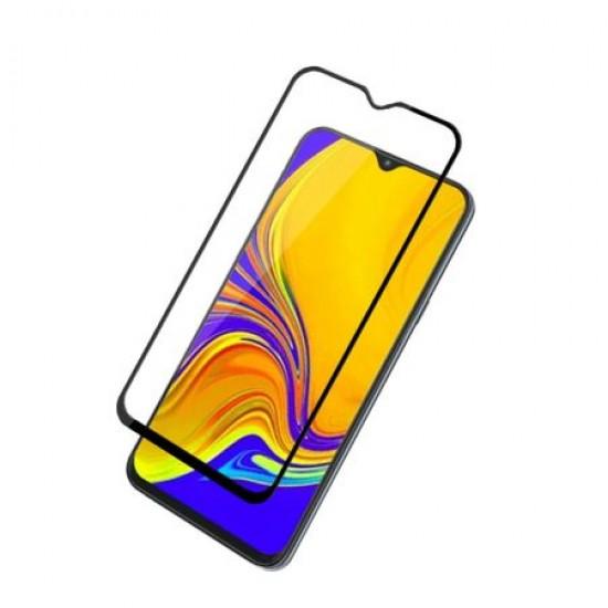 Folie din sticla 6D  compatibila cu Samsung Galaxy A20e, A202F, Neagra