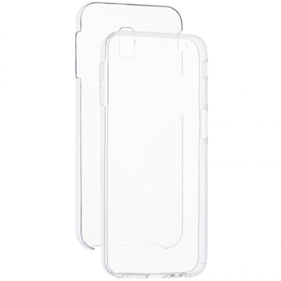 Husa 360 FATA + SPATE silicon transparent Samsung Galaxy J6 Plus 2018