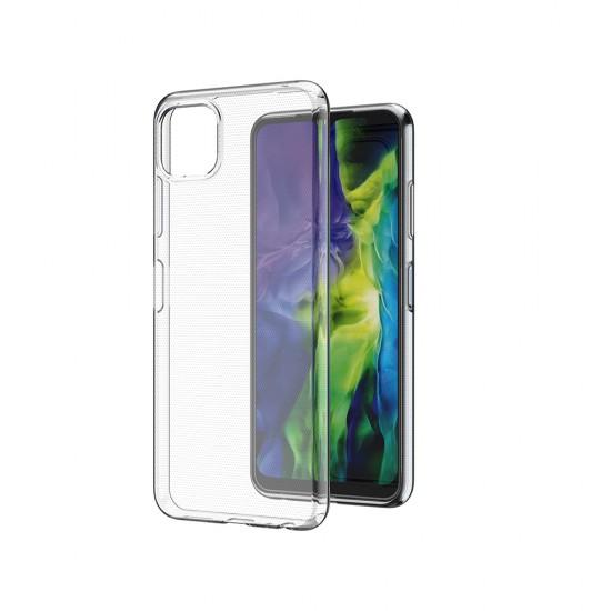 Husa silicon compatibila cu Samsung Galaxy A22 4G/LTE - Transparent