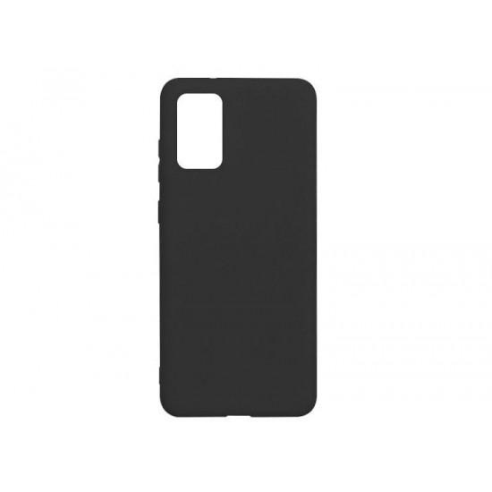 Husa compatibila cu Samsung Galaxy A02s - Silicon, Negru
