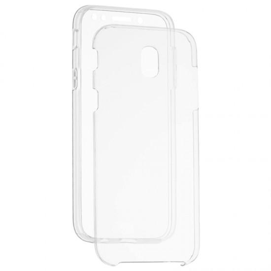 Husa 360 FATA + SPATE silicon transparent Samsung Galaxy J5 2017